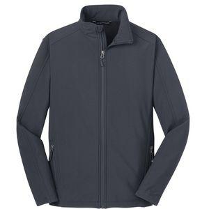 NEW Port Authority Lined Jacket 2XL Dark Gray Men